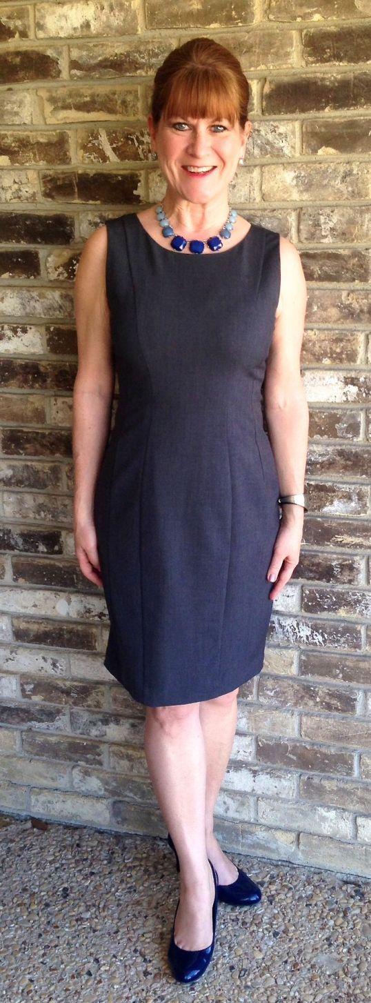 Classic grey dress